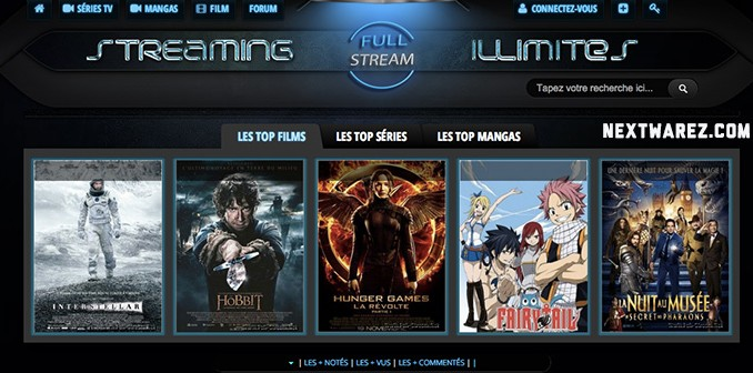 site de streaming gratuit et légal